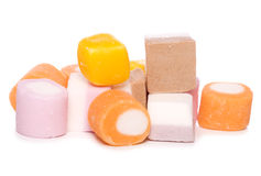 Dolly mixture sweets cutout Royalty Free Stock Photography