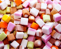 Dolly Mixtures. In a pile Royalty Free Stock Image