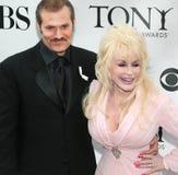 Dolly Parton ed ospite fotografie stock