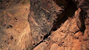Dolly puszka falezy twarz mitzpe Ramon krater zbiory