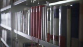 Dolly ruch biblioteka odkłada z udziałami książki zbiory