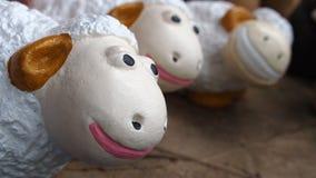 Dolly The Sheep Family Stockfoto