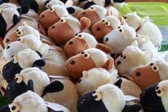 Dolly the sheep. At lamai garden, rayong, thailand royalty free stock photo