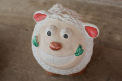 Dolly the sheep smile is beautiful. Dolly the sheep is smile beautiful royalty free stock image