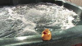 Dolly Shot della vasca calda archivi video