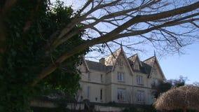 A big haunted mansion