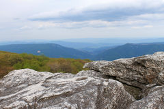 Dolly Sods. Photo of the view from Dolly Sods, West Virginia Royalty Free Stock Photo