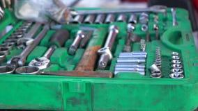 Dolly strzał Zbliża out set narzędzia dla naprawy zbiory