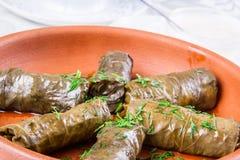 Dolma arménien traditionnel (tolma) Photo stock