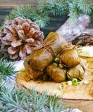 Dolma a la Navidad y al Año Nuevo Fotografía de archivo libre de regalías
