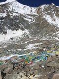 Dolma Lapasserande - montering Kailash Kora i vår i Tibet i Kina royaltyfria bilder