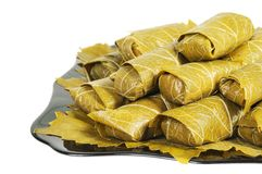 Dolma on a plate Stock Image