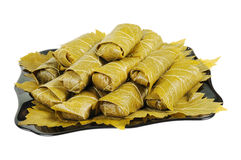 Dolma on a plate Stock Images