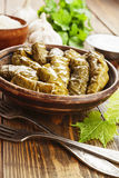 Dolma on the plate Stock Image