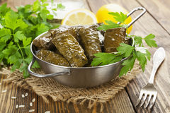 Dolma in the stewpot Royalty Free Stock Photography