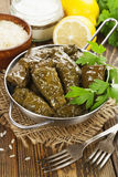 Dolma in the stewpot Stock Images