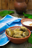 Dolma - a traditional Greek dish Stock Photography