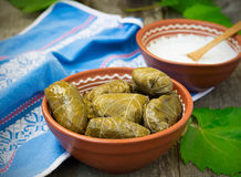 Dolma - a traditional Greek dish Royalty Free Stock Photography