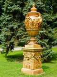 Dolmabache Vase. A Vase in the gardens of domabache palace Royalty Free Stock Photo