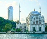 Dolmabahçe Masjed Mosqué Istanbul fotografering för bildbyråer