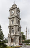 Dolmabahçe Clock Tower Istanbul Royalty Free Stock Image