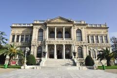 dolmabahce伊斯坦布尔宫殿火鸡 免版税图库摄影