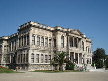 dolmabahce伊斯坦布尔宫殿 库存照片