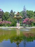 Dolmabahce喷泉伊斯坦布尔 库存照片