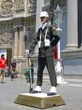 Dolmabahce宫殿护卫 库存图片