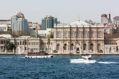 Dolmabahce宫殿,伊斯坦布尔 免版税库存图片