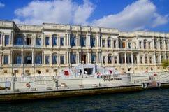 Dolmabahce宫殿 免版税库存照片