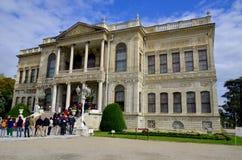 Dolmabahce宫殿 库存照片