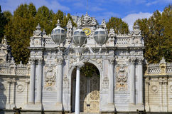 Dolmabahce宫殿 免版税图库摄影