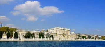 Dolmabahce宫殿 图库摄影