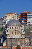 Dolmabahce无背长椅宫殿 免版税库存图片