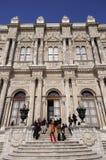 dolmabahce παλάτι πυλών Στοκ Εικόνα