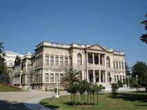 dolmabahce παλάτι της Κωνσταντινούπολης Στοκ εικόνα με δικαίωμα ελεύθερης χρήσης