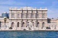 dolmabahce bramy pałac Zdjęcia Royalty Free