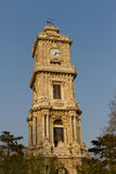 Dolmabahce Clock Tower Stock Image