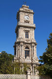 Dolmabahce Clock Tower Royalty Free Stock Images