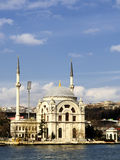 Dolmabahce mosque. In istanbul-turkey royalty free stock photo