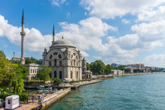 Dolmabahce Mosque Royalty Free Stock Image