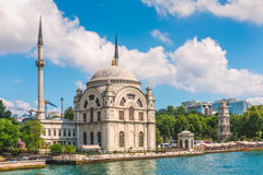 Dolmabahce Mosque Stock Image
