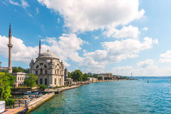 Dolmabahce Mosque Stock Images