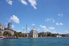 Dolmabahce Mosque Baroque style architecture, Royalty Free Stock Image
