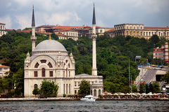 Dolmabahce Mosque in Istanbul Stock Image