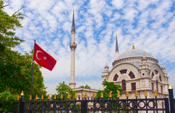 Dolmabahce Mosque. Dolmabahce Mosque Royalty Free Stock Image