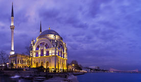 Dolmabahce Mosque (Estambul,Turkey) Royalty Free Stock Photos