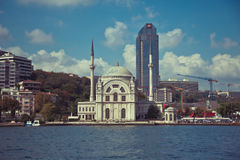 Dolmabahce Mosque in Istanbul Royalty Free Stock Photography