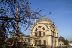 Dolmabahce mosque in Istanbul, Turkey Royalty Free Stock Images